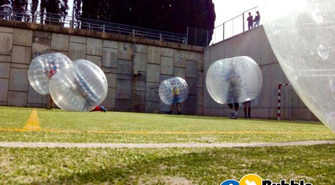 Bubble Footbal, increíble
