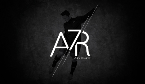 aitor Logo black