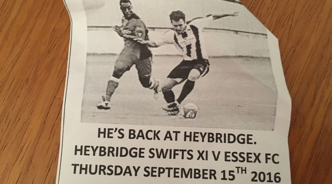 Heybridge Swifts FC 7 – 4 Essex FC